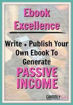 Ebook Excellence will guide you through every step of writing your ebook, from choosing your topic, right through to selling and delivering the goods! I'll introduce you to the tools you can use to make sure it will actually make money before you spend the time writing it, and super simple (and free!) programs you can use to create and publish it yourself! Stop trading time for money, there's a better way! Wanna see what's inside?  >> http://thetank.teachable.com/courses/ebook-excellence