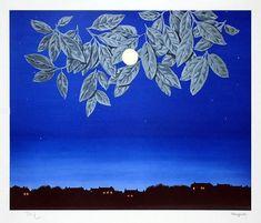 René Magritte, La page blanche, 1967