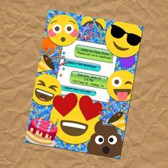 VENTA 25% de descuento personalizado Emoji partido invitación