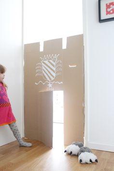 DIY // Die weniger ist mehr Pappburg. : a lovely journey | Inspirationen + DIY für junge Familien