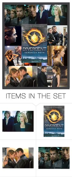 """Divergent - book"" by hangar-knjiga ❤ liked on Polyvore featuring art, divergent, movie, film and books"