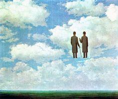 Infinite Gratitude, de René Magritte (1963)     Ainda que os Amantes se Percam... (verso de Dylan Thomas) alcançou o 61.º lugar entre os blogs portugueses mais visitados do Blogómetro.* Provavelmente o presságio de uma tragédia - ou o canto do cysne. Obrigado a todas as pessoas que visitam o blog