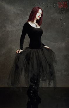 Romantic Gothic Dress: Cosette Dress by Rose Mortem    SUPER love this one.  I need one I can dance in and look spectacular.