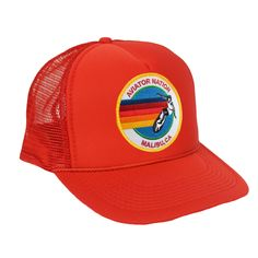 AVIATOR NATION MALIBU VINTAGE TRUCKER HAT - Aviator Nation