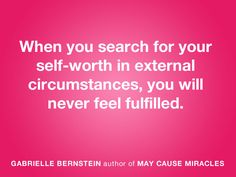 YES YES YES YES!    MAY CAUSE MIRACLES By Gabrielle Bernstein