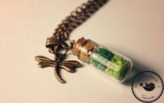 Kette  ❃  Moos ❃ von Little Handmade Treasures auf DaWanda.com