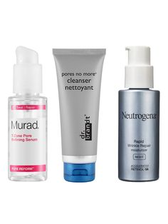 """BREAKOUTS AND DARK SPOTS """"Salicylic acid is the multitasker for this,"""" says Zeichner. """"It can help open clogged pores and remove excess oil to treat the acne, and it can exfoliate pigment-containing cells to help lighten the skin."""" We like Dr. Brandt Pores No More Cleanser and Murad T-Zone Pore Refining Serum. To fade stubborn dark spots, you'll need something with a little more kick. Boost cell turnover at night with a topical retinol. Neutrogena Rapid Wrinkle Repair Night Moisturizer has…"""