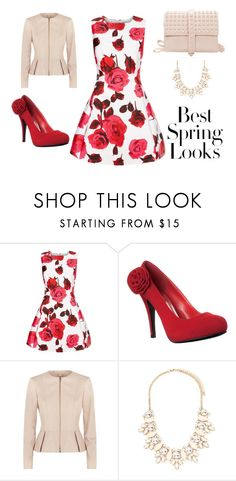 """""""Sin título #64"""" by valguida on Polyvore featuring moda, H&M, AX Paris, BOSS Hugo Boss y Forever 21"""
