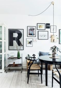 A family home in Copenhagen   FrenchByDesign-- That vase!