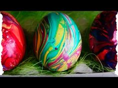 Как покрасить яйца на Пасху (мраморная крашенка)   How to color eggs for Easter (marble) - YouTube Easter Egg Dye, Coloring Easter Eggs, Color Lines, Happy Easter, Spring Time, Watermelon, Food And Drink, Fruit, Holiday