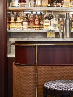 Ideas Home Luxury Bar Restaurant Design Cafe Bar, Bar Clandestin, Bar Lounge, Hotel Restaurant, Restaurant Design, Speakeasy Restaurant, Design Hotel, Bar Counter Design, Bar Table Design
