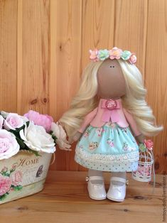 Коллекционные куклы ручной работы. Ярмарка Мастеров - ручная работа. Купить Кукла текстильная ручной работы Amma.. Handmade.