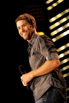 Josh Turner... he's a Christian, he's country, he sings amazing and looks like THAT!