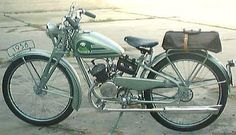 Vintage Sachs Panther Motorcycle / Moped