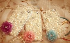 flower bling iphone 4 case iphone 5 crystal case iphone 4s bling case Samsung note 2 case bling samsung s3 bling case samsung galaxy s4 case