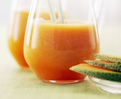 Afternoon Snack: Healthy Melon Slushies
