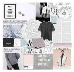 """SAY I LOVE YOU"" by seasidevibes-xo ❤ liked on Polyvore"