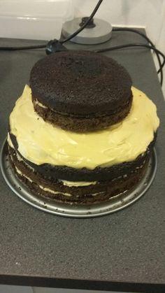 Chocolate cake for my birthday