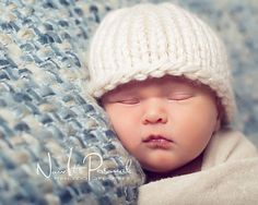 Knitting PATTERN - Easy Knit Baby Hat Beanie - Instant Download PDF 227 - Newborn to Adult - Make 2 Ways - Photography Prop Pattern on Etsy, $4.95