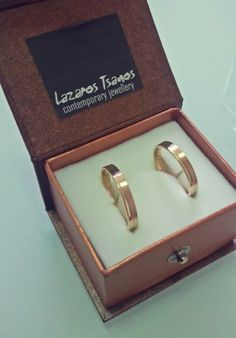 14K yellow gold wed rings.. DONE