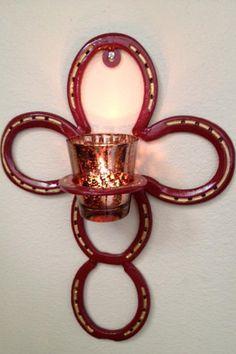 Horseshoe Cross by AmericanMetalArt on Etsy, $29.99