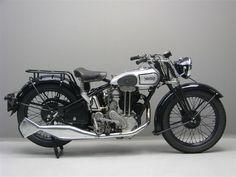 1933 Norton Motorcycle - Beautiful Old Bike! (