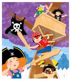 Pirate / praatplaat piraten, kleuters