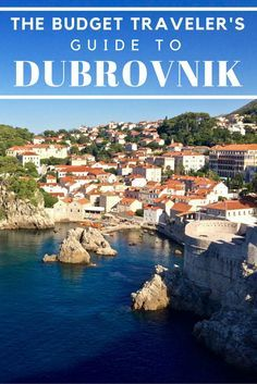 Dubrovnik may be the most popular tourist destination in Croatia, but you can still visit on a tight budget. This travel guide will tell you how!   http://www.littlethingstravel.com #budgettravel #travelguide #traveltips