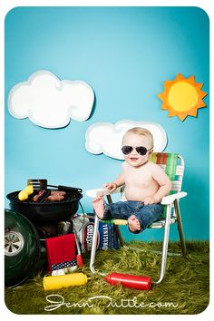 Happy 4th of July: Southern California Baby Photographer » Jenn Tuttle [Loveographer]   so adorable!