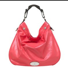 69d876bb7f Mulberry Mitzy Tote Hobo Lipstick Pink