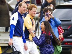 Prince William, Prince Harry Make Royal Fan's Day