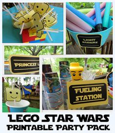 Lego Star Wars Party: Free Printables, Games and Menu Ideas! - All Things With Purpose