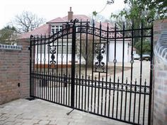 Our wrought iron driveway gates can provide you privacy, security and comfort over many years.more information visit http://www.alekogates.com/Driveway-Gates-s/1814.htm