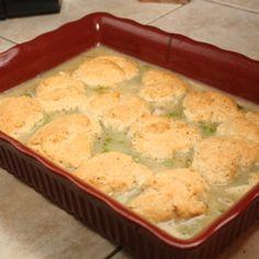 Chicken and Dumpling Casserole Recipe 2 | Just A Pinch Recipes