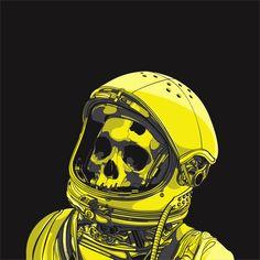 Sci-Fi & Space / Death Astro by ~cranenoir on deviantART