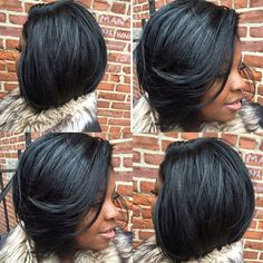"""""""Love this! @styledbyshamila ✂️ #boblife #sewin #dopecut #summerstyle #thecutlife"""" Photo taken by @thecutlife on Instagram, pinned via the InstaPin iOS App! http://www.instapinapp.com (06/08/2015)"""
