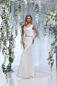 Elegant wedding dress from Impression Bridal's new collection.