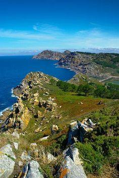 Islas Cies. Vigo. Galicia. Spain.
