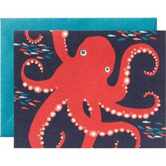 Octopus A2 Stationery - Paper Source