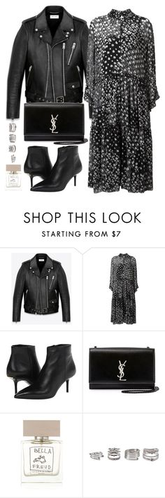 """""""Untitled #2793"""" by briarachele ❤ liked on Polyvore featuring Yves Saint Laurent, See by Chloé, Burberry, Bella Freud and Forever 21"""