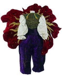 Costume du Clown Fleur, Au pays des clowns, d'après Pascal Jacob, Cirque Phénix Junior, 2003, Coll. Jacob-William. © CNCS / Photo Pascal François