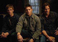 The Winchester brothers - Adam Milligan, Dean Winchester, & Sam Winchester As much as I liked Adam in Supernatural, I am still not sure I like the fact that he's their brother...