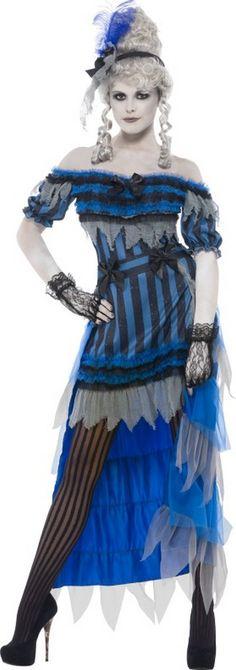 Magnifique Ghost Mariée Femme Costume Robe Fantaisie Ghostly Spirit Blanc Halloween