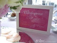 Mesero rosa Si Quiero Wedding Planners en Novias de España