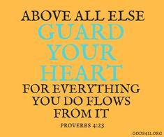 Proverbs 4:23 | Bible Verses