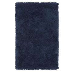 Ultra Plush Rug, Navy | PBteen