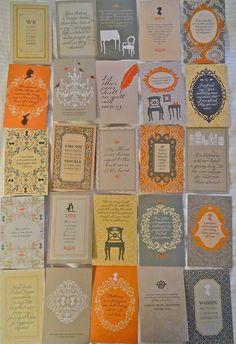 100 Austen Postcards