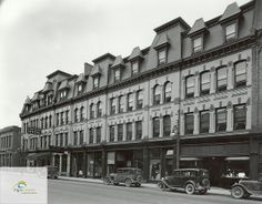 Grand Central Hotel, Talbot Street, St. Thomas, 1932 | Flickr - Photo Sharing!