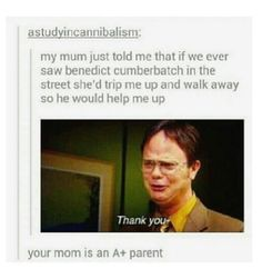 A+ parent right here