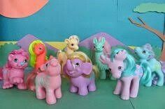 Vintage my little pony friends
